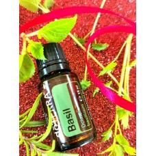 Basil - liečivý esenciálny olej