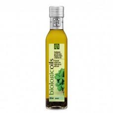 Extra panenský olivový olej s bazalkou BIO 250ml Biotuscany