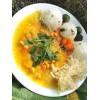 Cícer na kurkume so zeleninou