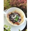 Ryžová kaša s rozvarom zo sliviek s mandľami a hrozienkami