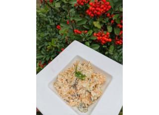 Zelerovo mrkvový šalát s tofu